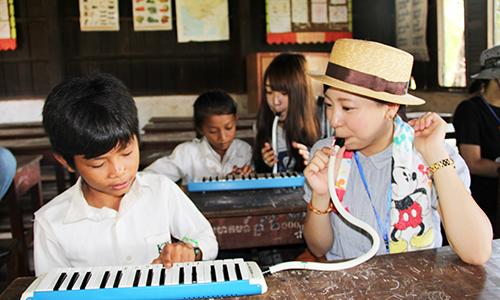 カンボジア音楽交流ツアー