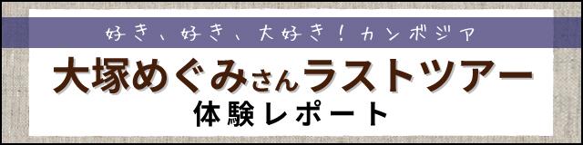 めぐみさんラストツアーレポート