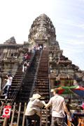 アンコールワット第三回廊(カンボジア)