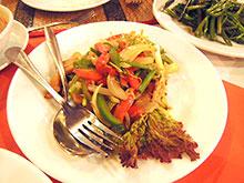 カンボジアでのお食事