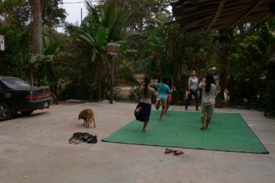 カンボジアの孤児院