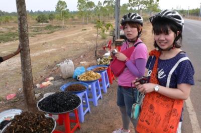 カンボジアの屋台