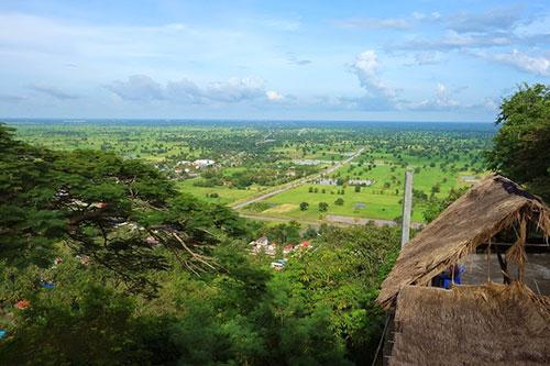 カンボジア・サイクリングツアー2014 アンコール遺跡&田舎道を走る 2日目 プノン・サンパウ6