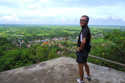 カンボジア・サイクリングツアー2014 アンコール遺跡&田舎道を走る 2日目 プノン・サンパウ7