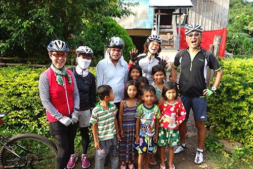 カンボジア・サイクリングツアー2014 アンコール遺跡&田舎道を走る 2日目 プノン・サンパウ11