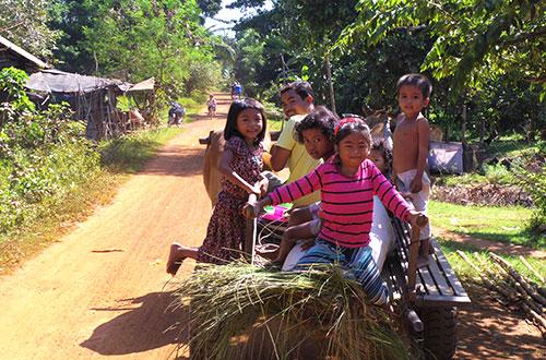 カンボジア・サイクリングツアー2014 アンコール遺跡&田舎道を走る 8日目 西バライ12