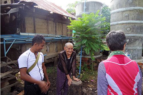 カンボジア・サイクリングツアー2014 アンコール遺跡&田舎道を走る 2日目 プノン・サンパウ12