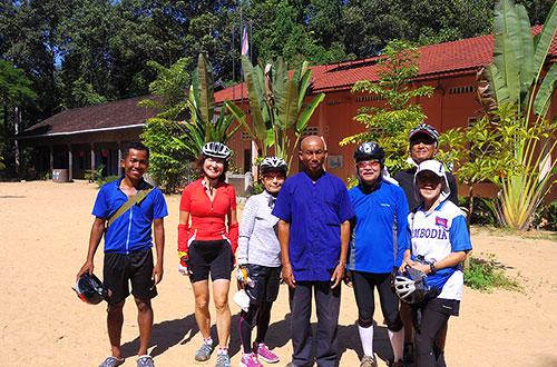 カンボジア・サイクリングツアー2014 アンコール遺跡&田舎道を走る 8日目 西バライ14