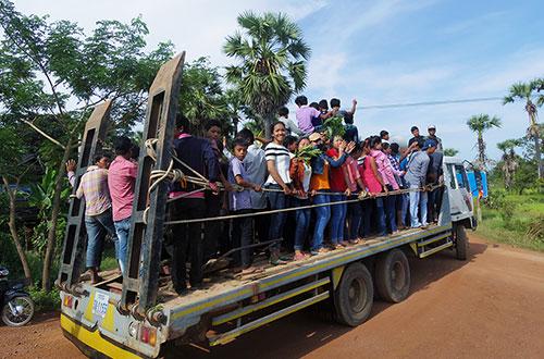 カンボジア・サイクリングツアー2014 アンコール遺跡&田舎道を走る 4日目 コーケー遺跡群2