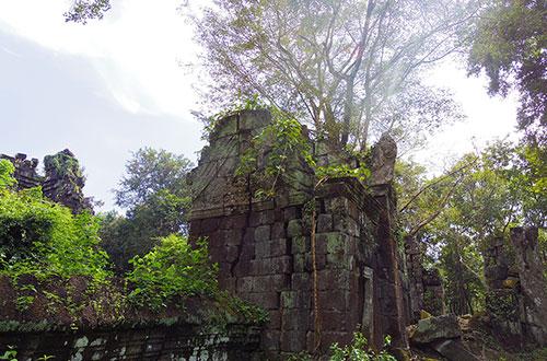 カンボジア・サイクリングツアー2014 アンコール遺跡&田舎道を走る 4日目 コーケー遺跡群11