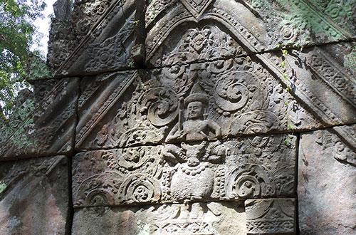 カンボジア・サイクリングツアー2014 アンコール遺跡&田舎道を走る 4日目 コーケー遺跡群13