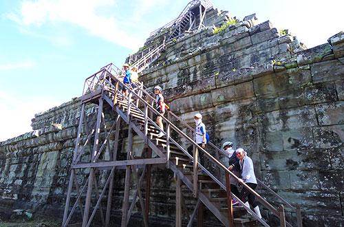カンボジア・サイクリングツアー2014 アンコール遺跡&田舎道を走る 4日目 コーケー遺跡群17