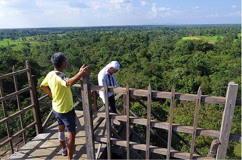 カンボジア・サイクリングツアー2014 アンコール遺跡&田舎道を走る 4日目 コーケー遺跡群18