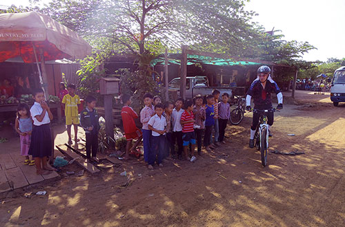 カンボジア・サイクリングツアー2014 アンコール遺跡&田舎道を走る 5日目 プレアヴィヒア4