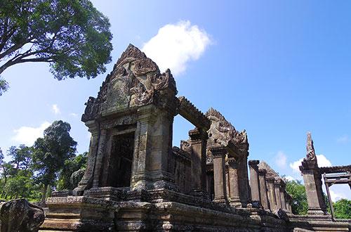 カンボジア・サイクリングツアー2014 アンコール遺跡&田舎道を走る 5日目 プレアヴィヒア9