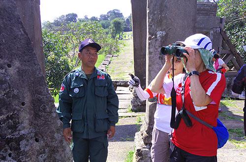 カンボジア・サイクリングツアー2014 アンコール遺跡&田舎道を走る 5日目 プレアヴィヒア10