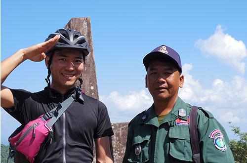 カンボジア・サイクリングツアー2014 アンコール遺跡&田舎道を走る 5日目 プレアヴィヒア11
