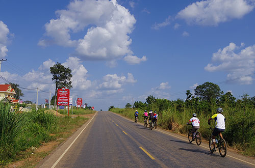 カンボジア・サイクリングツアー2014 アンコール遺跡&田舎道を走る 5日目 プレアヴィヒア17