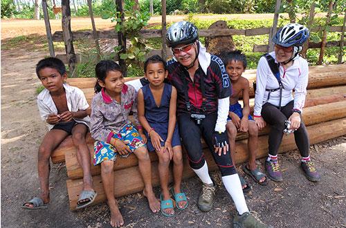 カンボジア・サイクリングツアー2014 アンコール遺跡&田舎道を走る 6日目 ベンメリア遺跡10