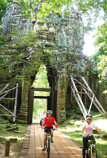 カンボジア・サイクリングツアー2014 アンコール遺跡&田舎道を走る 7日目 アンコールワット&アンコールトム6