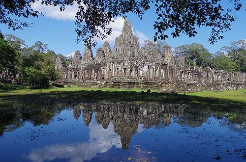 カンボジア・サイクリングツアー2014 アンコール遺跡&田舎道を走る 7日目 アンコールワット&アンコールトム10