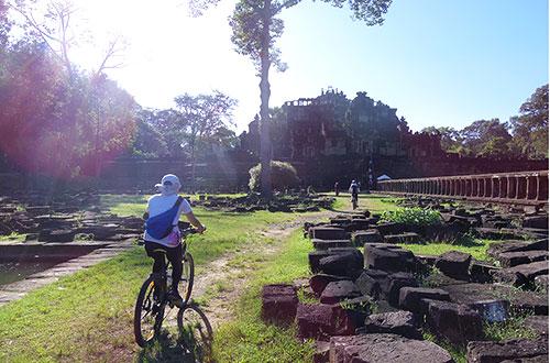 カンボジア・サイクリングツアー2014 アンコール遺跡&田舎道を走る 7日目 アンコールワット&アンコールトム11