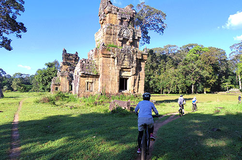 カンボジア・サイクリングツアー2014 アンコール遺跡&田舎道を走る 7日目 アンコールワット&アンコールトム12