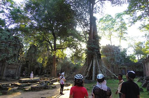 カンボジア・サイクリングツアー2014 アンコール遺跡&田舎道を走る 7日目 アンコールワット&アンコールトム17