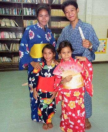 カンボジアツアー(スナーダイクマエ孤児院)2日目 交流活動