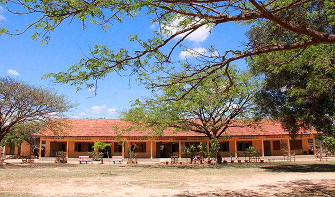 カンボジアの小学校