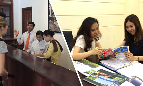 ベトナムとカンボジアで海外インターンシップ