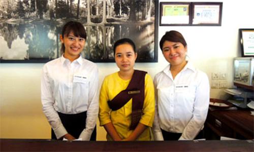 カンボジアのホテル海外インターンシップ