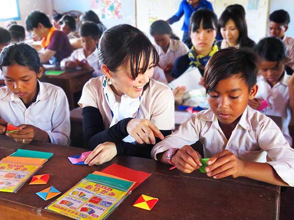 カンボジア孤児院スナーダイクマエ